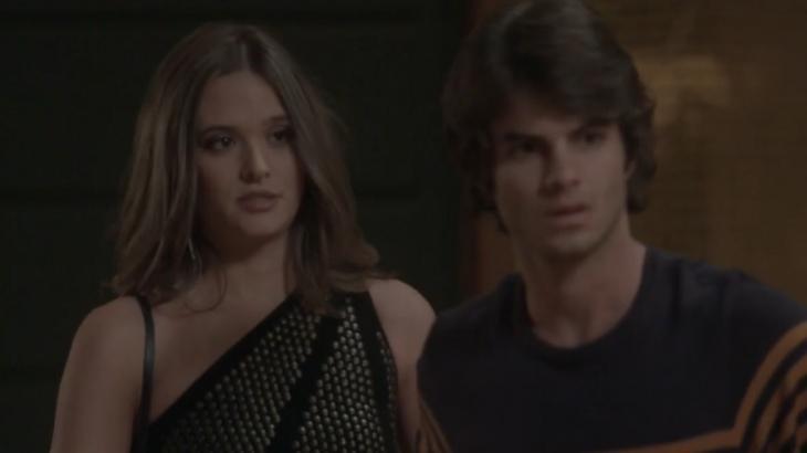 Totalmente Demais: Fabinho perdoa Cassandra depois de quebrar o pau com namorada