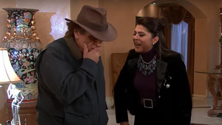 Cena de Triunfo do Amor com Vitória e Rodolfo