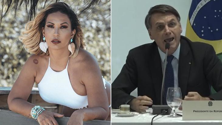 Valesca Popozuda sobre reunião de Bolsonaro: