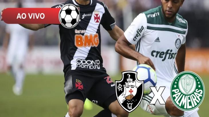 Vasco x Palmeiras ao vivo: Saiba como assistir na TV e online pelo Brasileirão 2019