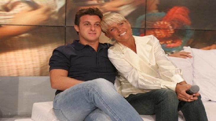 Xuxa parabeniza Luciano Huck por aniversário e avisa: Você estará no meu livro