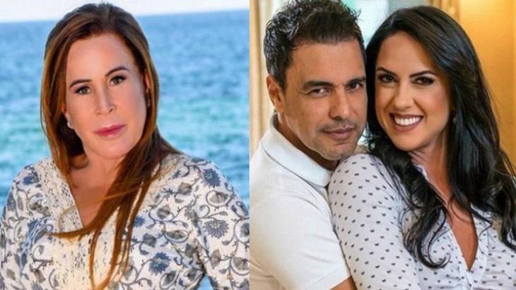 Zilu Godoi, Zezé Di Camargo e Graciele Lacerda