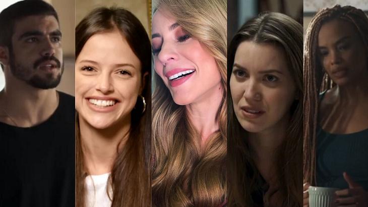Personagens mudaram o visual em A Dona do Pedaço - Foto: Montagem