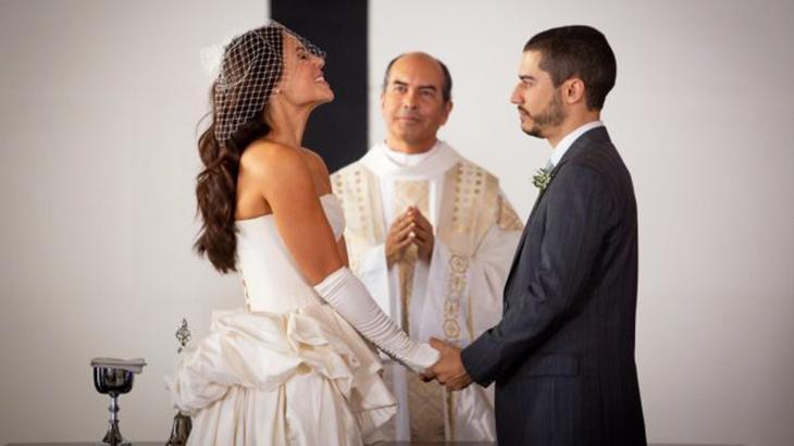 Camilo expôs traição de Vivi Guedes para todos os convidados durante casamento - Divulgação/TV Globo