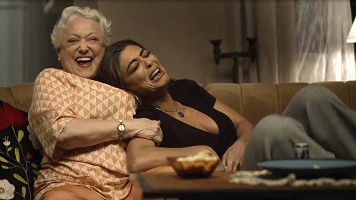 Maria da Paz vibra com Marlene após anúncio de Angélica em A Dona do Pedaço - Divulgação/TV Globo