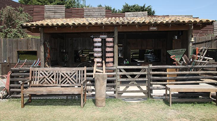 A sede de A Fazenda, em Itapecerica da Serra, na Grande SP