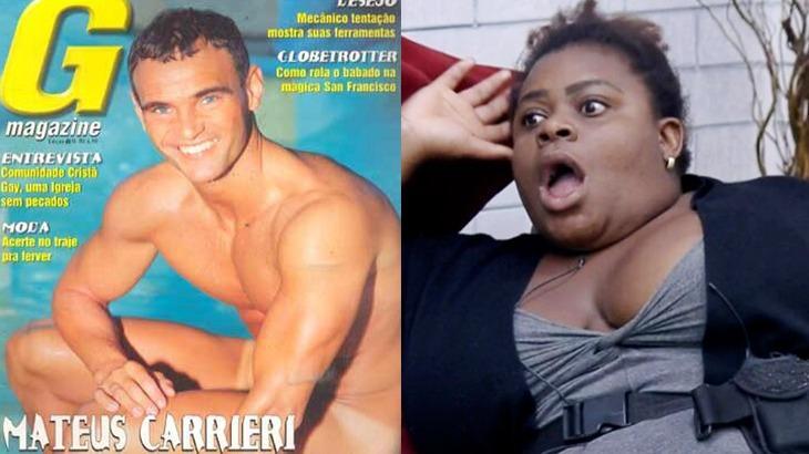 Jojo Todynho chocada e Mateus Carrieri na capa de revista adulta