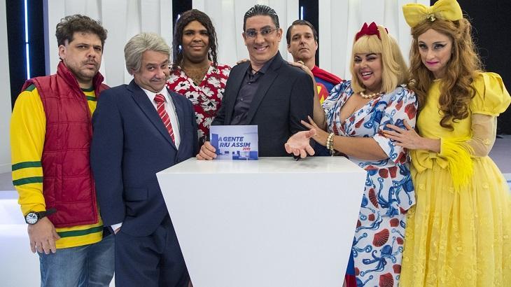 Elenco do A Gente Riu Assim - Foto: Divulgação/Globo