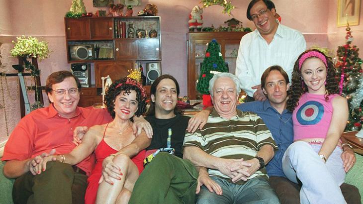 Imagem de uma das primeiras temporadas da série, ainda com Rogério Cardoso - Divulgação/TV Globo