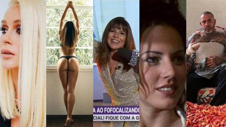 De volta de Mara Maravilha a Marina Ruy Barbosa loira: A semana dos famosos
