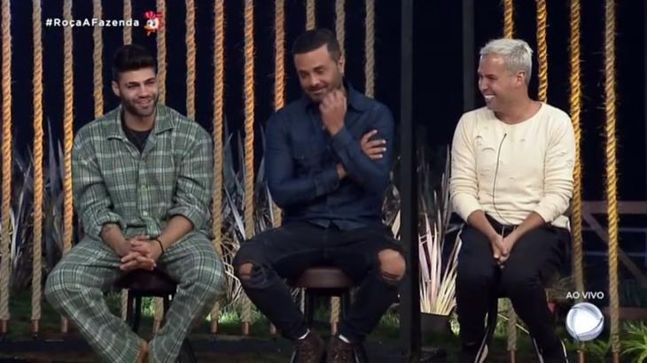 Peões formaram a 9ª roça no reality show A Fazenda 2019