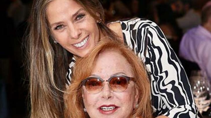 Adriane Galisteu e sua sogra - Foto: Reprodução