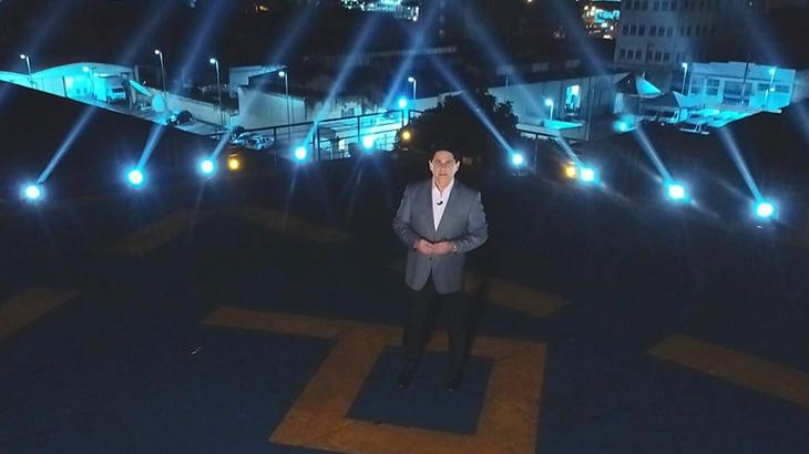 César Filho apresenta a série Aeroporto na Record - Divulgação