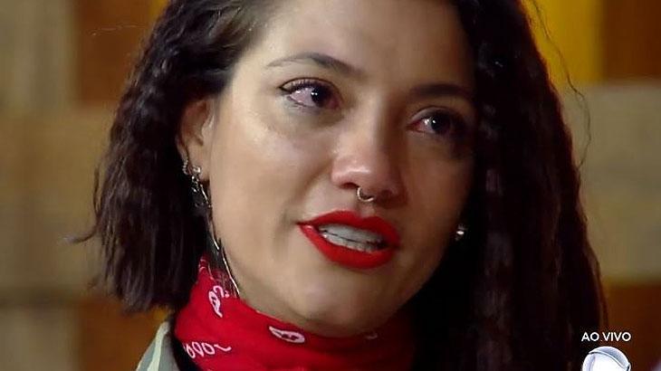 Gabi Prado chora