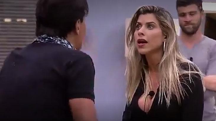 Fabio Arruda começa a briga ofendendo Minerato
