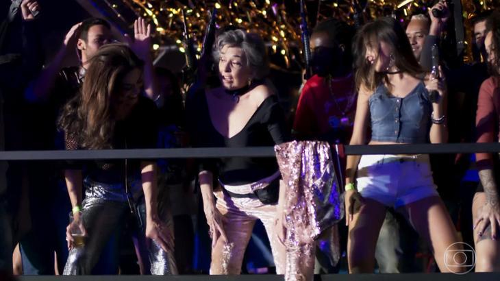 Betty Faria comenta repercussão após dançar até o chão em