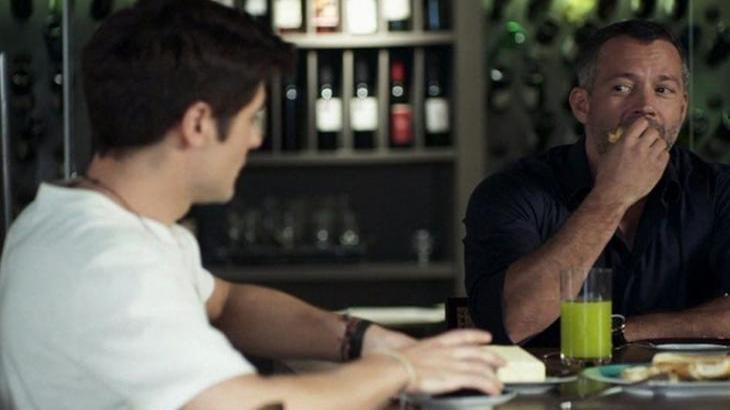 Leandro está cada vez mais apaixonado por Agno - Reprodução/TV Globo