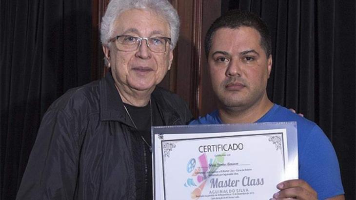 Silvio Cerceau e Aguinaldo Silva