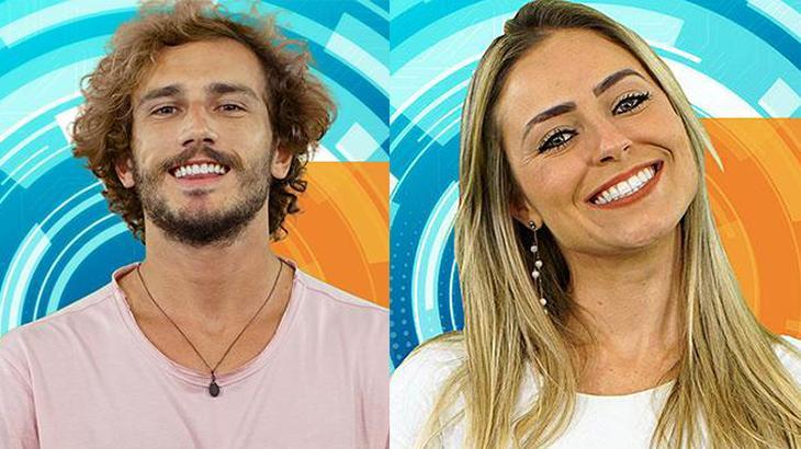 "Paula e Alan do ""Big Brother Brasil 19"""