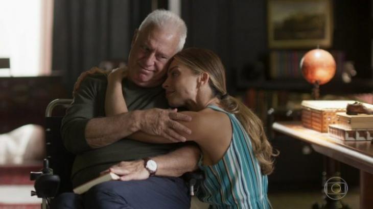 Alberto adota Paloma em Bom Sucesso - Reprodução/TV Globo