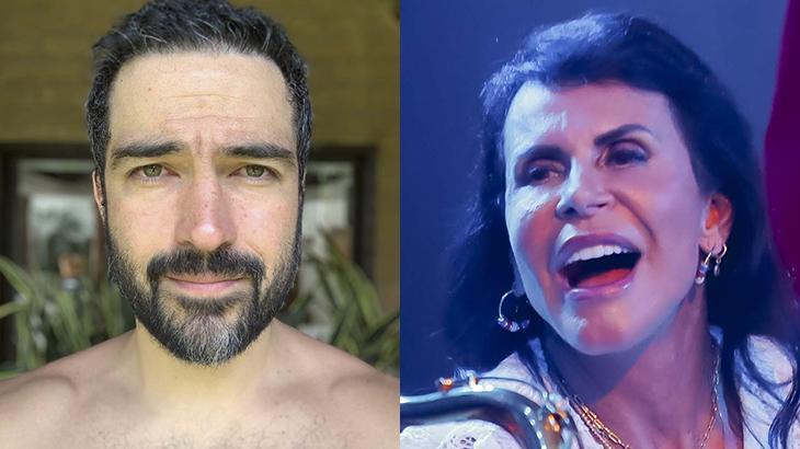 Alfonso Herrera, ex-RBD, pergunta quem é Gretchen; e cantora responde