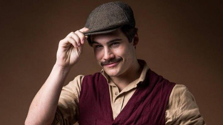 Alfredo quer boa vida nos Estados Unidos - Divulgação/TV Globo