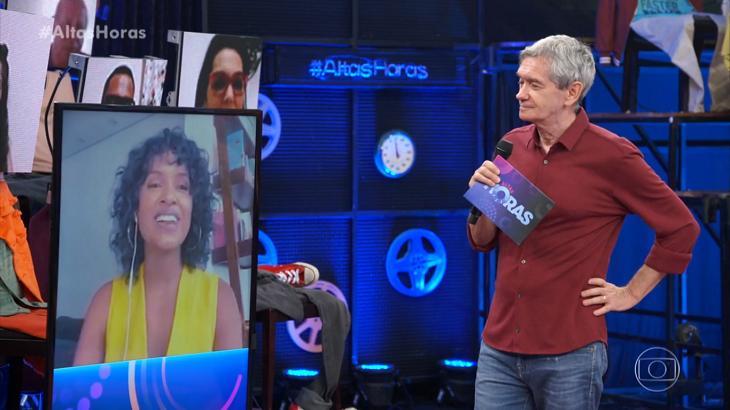 Com ex-brothers, Altas Horas tem pior audiência desde mudança de horário
