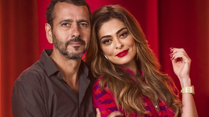 Amadeu (Marcos Palmeira) e Maria da Paz (Juliana Paes) - João Miguel Júnior/Globo