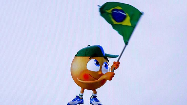 Famoso nos anos 90, mascote Amarelinho volta ao SBT na Copa América