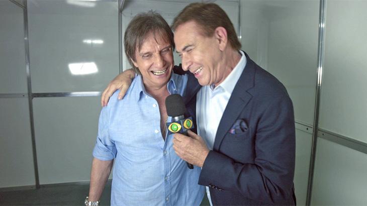 Roberto Carlos foi uma das atrações de estreia do