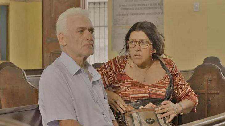Lurdes frente a frente com médico - Foto: Divulgação/Globo