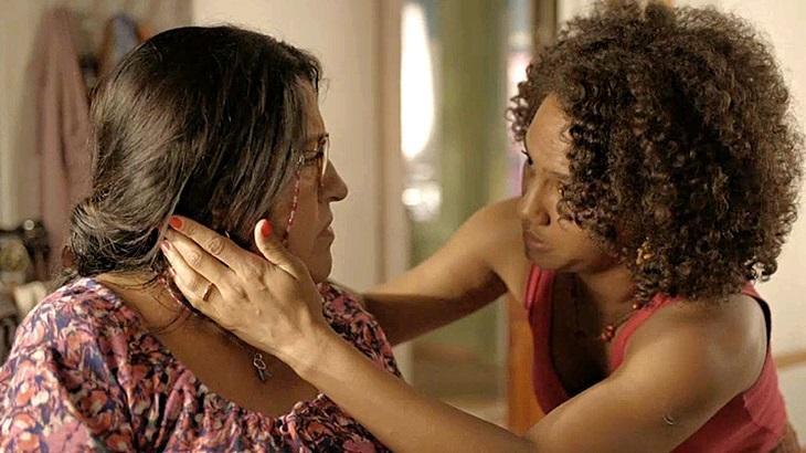 Lurdes conversa com Jéssica - Foto: Divulgação/Globo