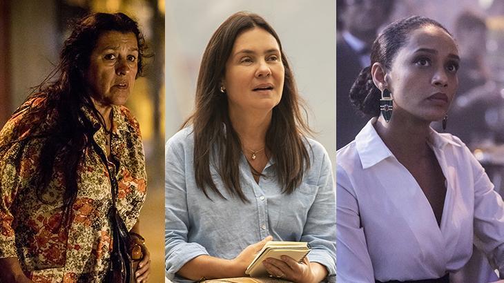 As três protagonistas de Amor de Mãe - Divulgação/TV Globo