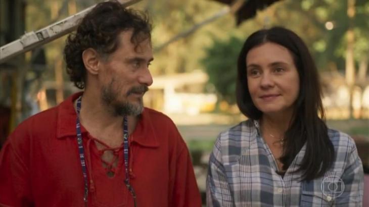 Thelma dirá a Durval que só o quer como amigo (Foto: Globo/Reprodução)