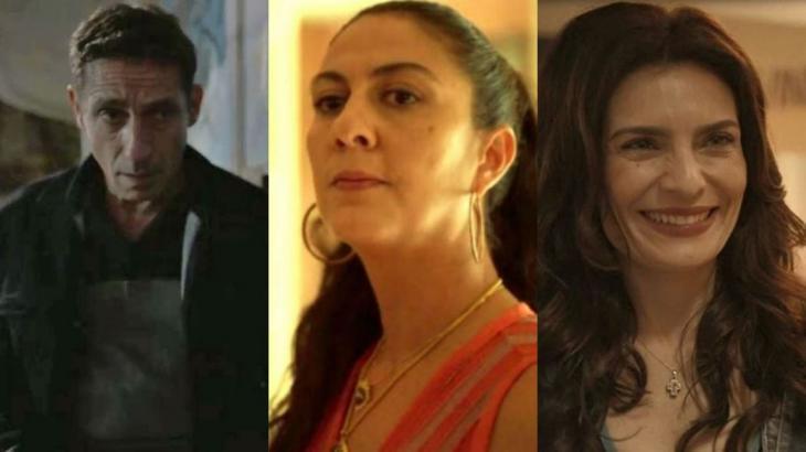 Belizário ficará arrasado com prisão de Penha e beijará Leila - Fotos: Reprodução/Globo