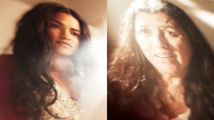 Com fotografia diferenciada, cena do sonho de Lurdes em Amor de Mãe recebeu elogios - Globo/Reprodução