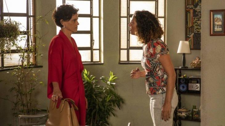 Penha e Lídia fazem embate - Divulgação/TV Globo