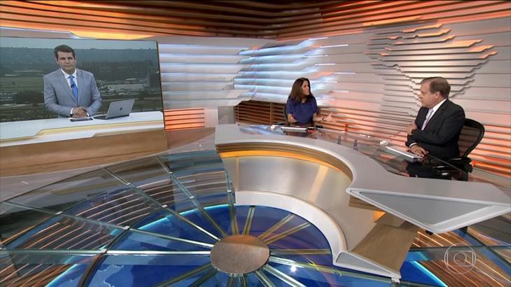 Ana Luíza Guimarães inconformada no Bom Dia Brasil - Foto: Reprodução/Globo
