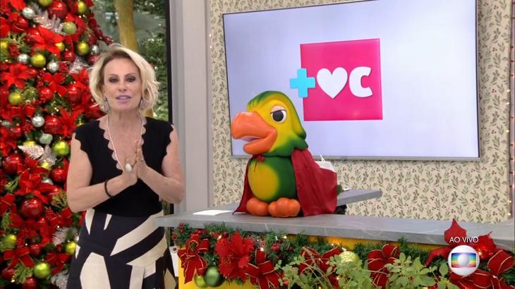 Ana Maria Braga falou do seu câncer - Foto: Reprodução/Globo