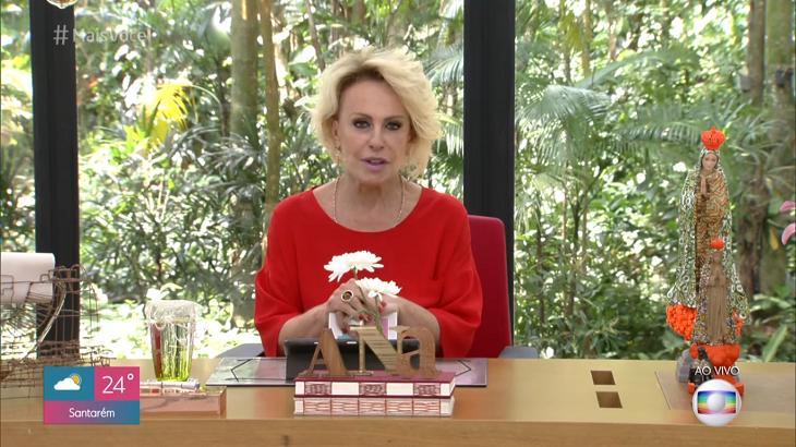 Ana Maria Braga no Mais Você - Foto: Reprodução/Globo