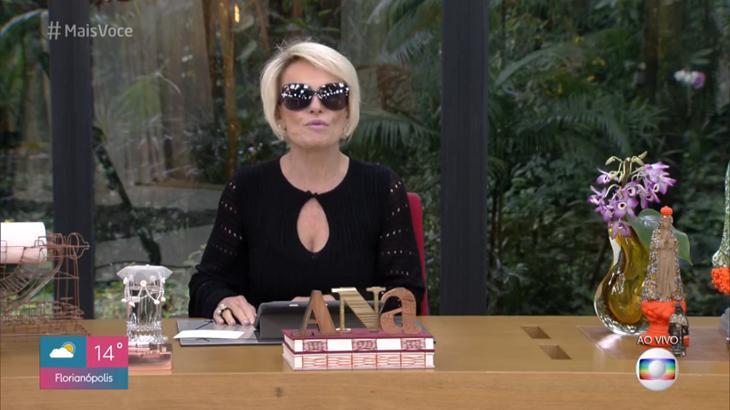 Ana Maria Braga cometeu nova gafe - Foto: Reprodução/Globo