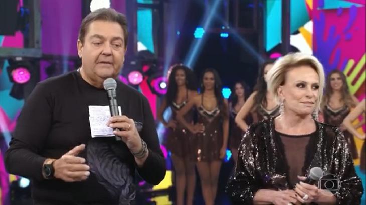 Ana Maria Braga e Faustão são amigos - Foto: Reprodução/Globo