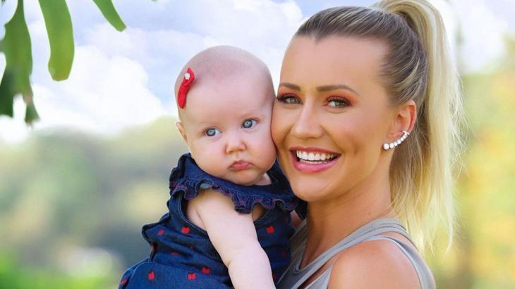 Ana Paula Siebert e a filha Vicky