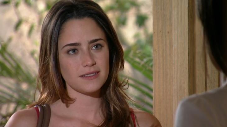 Fernanda Vasconcellos como Ana em cena de A Vida da Gente, em reprise na Globo