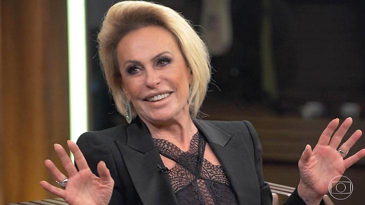Apresentadora se divertiu ao lembrar episódio - Reprodução/Globo