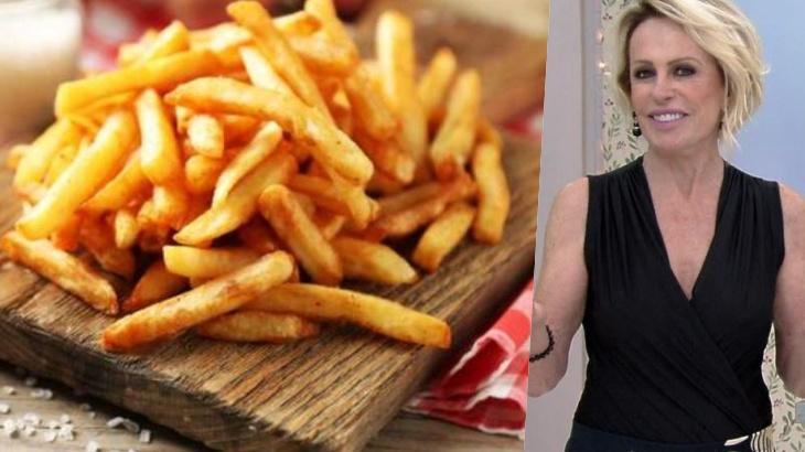 Ana Maria Braga revela os segredos para uma batata frita perfeita