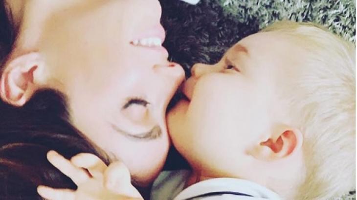 Anahí e o filho Manuel, que segundo ela, é a maior inspiração - Foto: Reprodução/Instagram