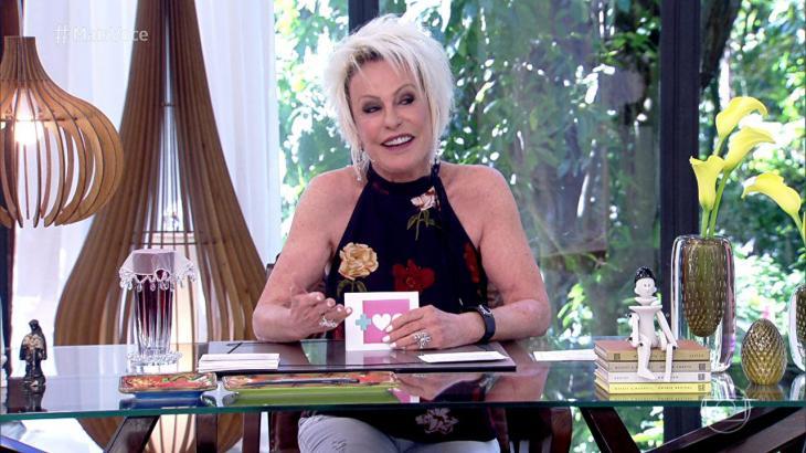 A web não está sabendo lidar com ausência de Ana Maria Braga do