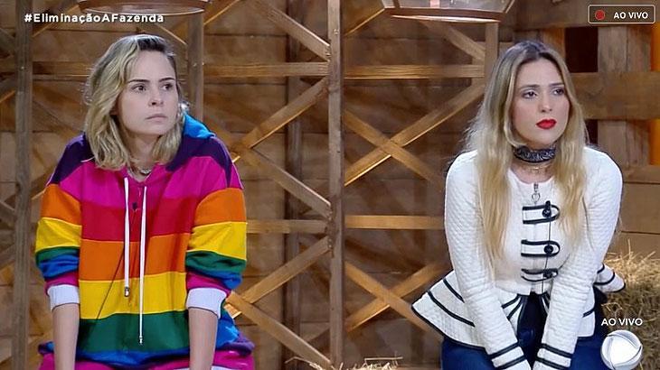 Ana Paula Renault e Nadja Pessoa