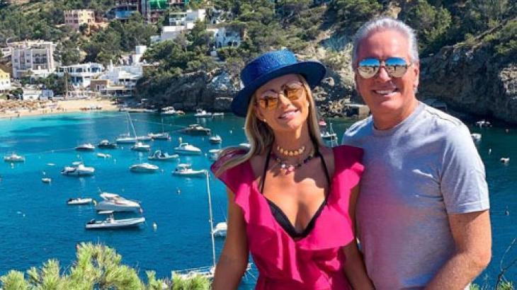 Ana Paula e Roberto Justus em Ibiza, na Espanha - Reprodução/Instagram